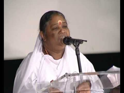 Amma: Compassion - The Only Way To Peace (1 of 5)