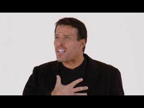 Tony Robbins: How To Follow Through With Your Goals (3 of 4)