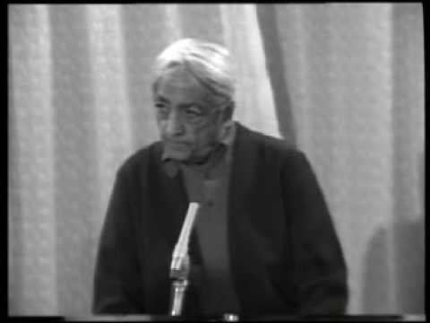 Krishnamurti: Dialogue On Death (1 of 12)