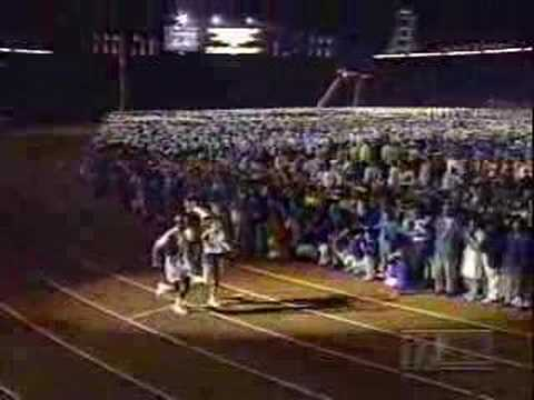 1996 Atlanta Opening Ceremonies - Lighting Of The Cauldron