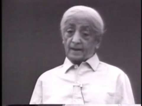 Krishnamurti: Who Am I?
