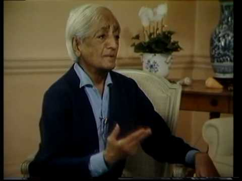 Krishnamurti: Education: (6 of 6)