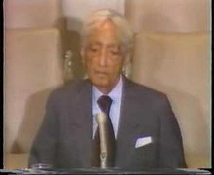 Krishnamurti: At United Nations. (7 of 8)