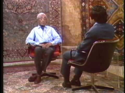 Krishnamurti: With Chogyam Trungpa Rinpoche (2 of 5)