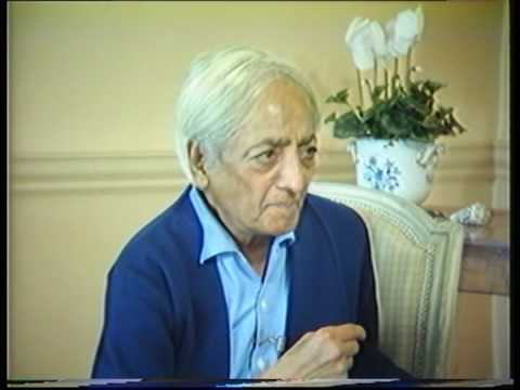 Krishnamurti: The Nature Of Thought (5 of  6)
