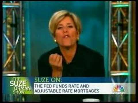 Suze Orman: Fed Funds Rate