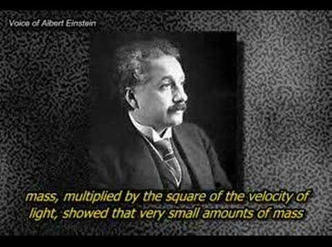 Albert Einstein: His Famous Formula