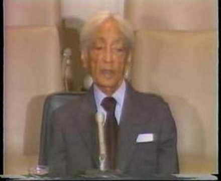 Krishnamurti: At United Nations. (3 of 8)