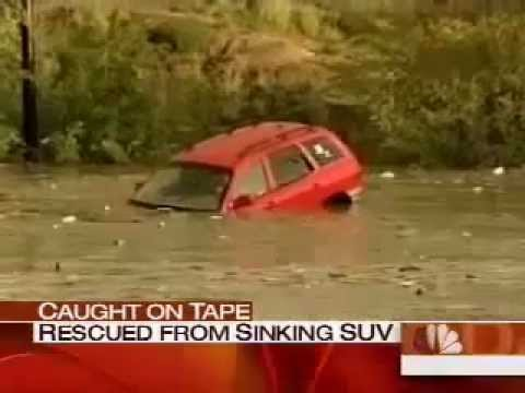 Woman Drowning In Her SUV Is Miraculously Saved