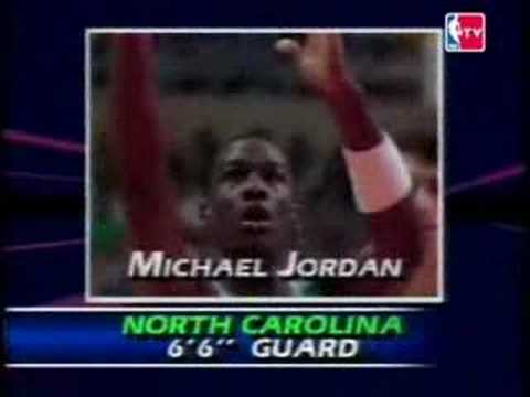 NBA Draft 1984 - Michael Jordan