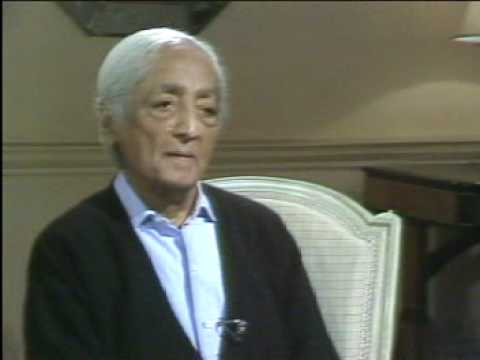 Krishnamurti: With Bernard Levin (2 of  3)