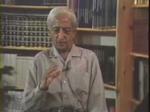 Krishnamurti: On Fear (1 of  2)