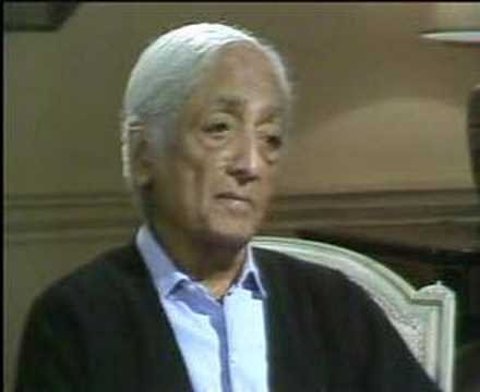 Krishnamurti: With Bernard Levin (1 of  3)