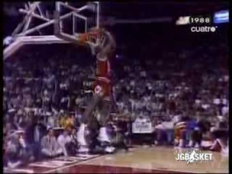 Nba Concurso De Mates 1988, Michael Jordan Vs Dominique Wilk