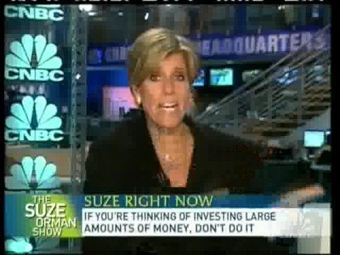 Suze Orman: Investing During The Financial Crisis