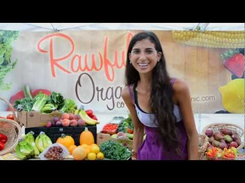 "Kristina Carrillo-Bucaram: ""EAT IT RAW\"" Iron Chef Challenge"