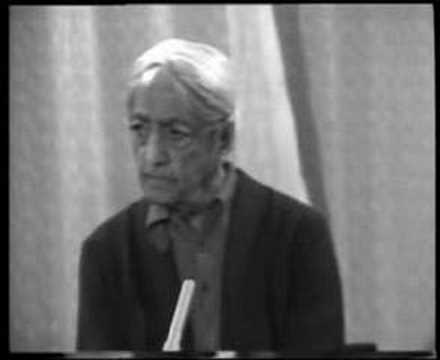 Krishnamurti: Dialogue On Death (2 of 12)