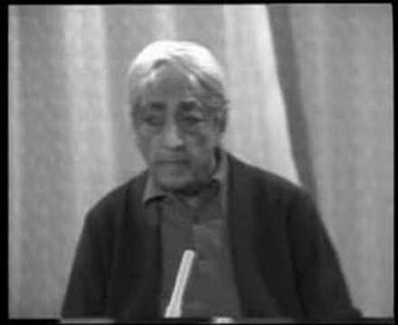 Krishnamurti: Dialogue On Death (3 of 12)
