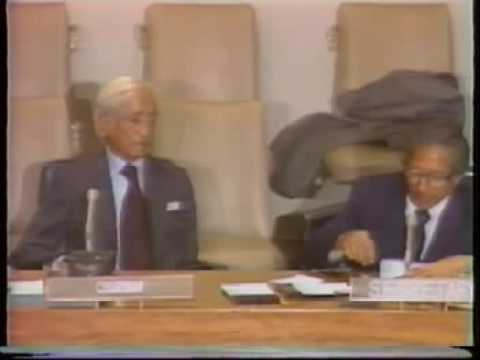 Krishnamurti: At United Nations. (8 of 8)