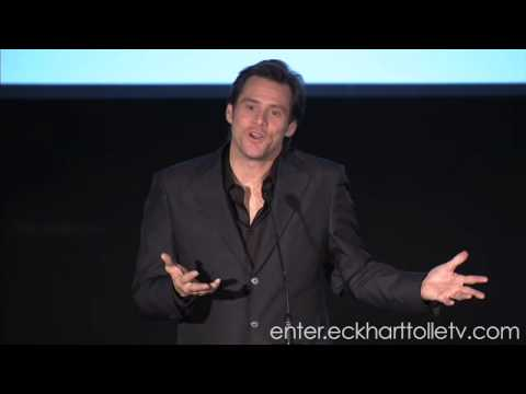 Eckhart Tolle: Jim Carrey Introduces Eckhart Tolle