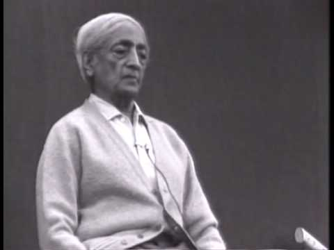 Krishnamurti: Love And Freedom (1 of 8)