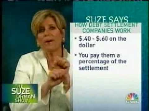 Suze Orman: Debt Consolidation Tips