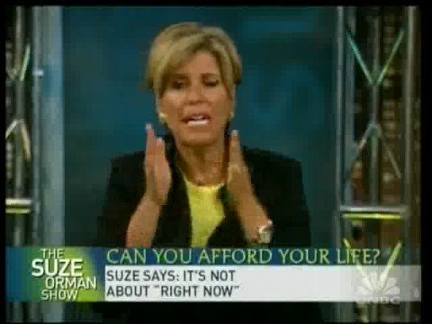 Suze Orman: Attitude On Personal Finance