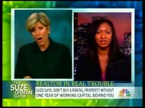 Suze Orman: Speaks To Strapped Realtor