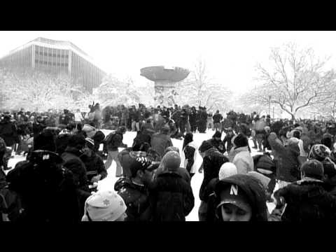 Massive Snowball Fight, Dupont Circle DC