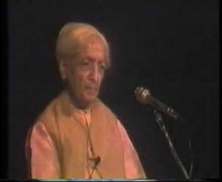 Krishnamurti: The Last Talks (6 of  8)