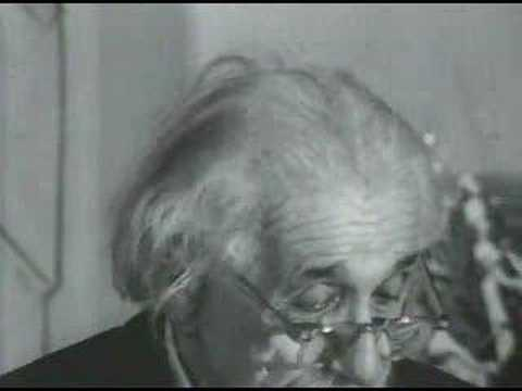 Albert Einstein: A Speech