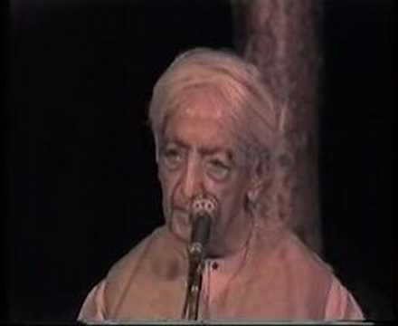 Krishnamurti: The Last Talks (8 of  8)