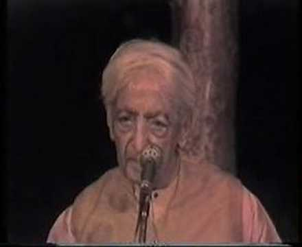 Krishnamurti: The Last Talks (5 of  8)
