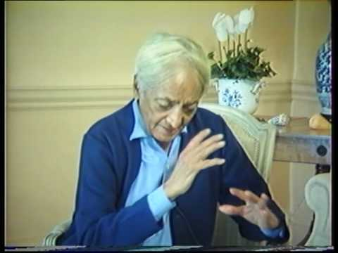Krishnamurti: The Nature Of Thought (6 of  6)