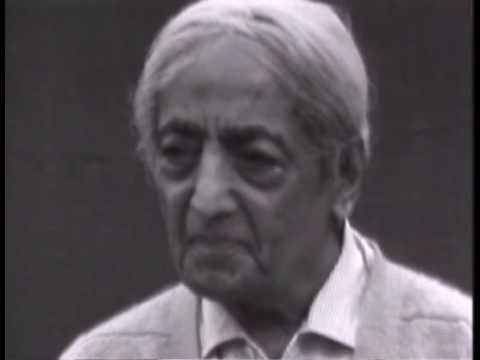 Krishnamurti: Love And Freedom (4 of 8)