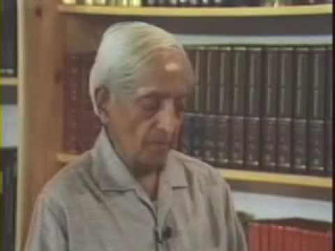 Krishnamurti: On Fear (2 of  2)