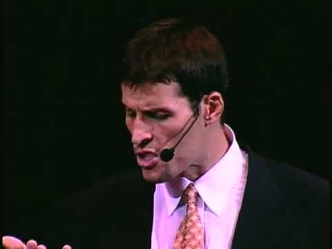 Tony Robbins: Musts Vs. Shoulds
