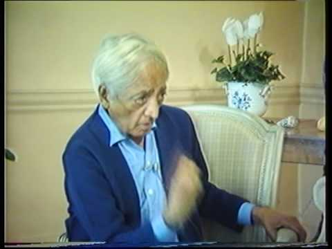 Krishnamurti: The Nature Of Thought (3 of  6)