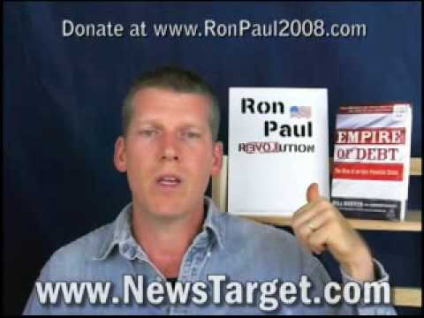 Mike Adams: Support Ron Paul to Save America From Financial Collapse