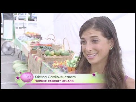 Kristina Carrillo-Bucaram: ABC Channel 13 Features Rawfully Organic!