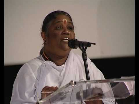 Amma: Compassion - The Only Way To Peace (4 of 5)