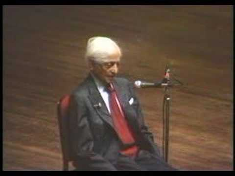 Krishnamurti: At The End Of Sorrow Is Passion (7 of 10)